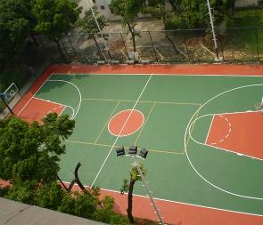 篮球场硅PU厂家