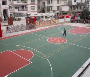 球场弹性地板工程