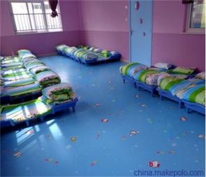 幼儿园PVC弹性地胶
