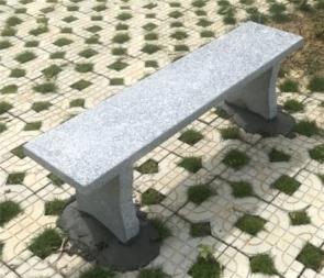 CG-A1-S20无靠背长条石凳庭院花园别墅大理石长凳户外石凳子公园靠背椅花岗岩石椅