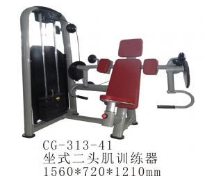 CG-313-41 商用坐式推肩训练器健身房肩部推举综合器材推肩器二头肌神器