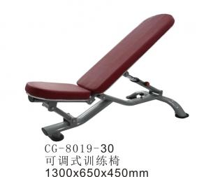 CG-8019-30商用平凳哑铃凳卧推凳推凳椅子可调式训练凳力量型健身器材健身房