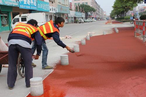 陶瓷防滑路面